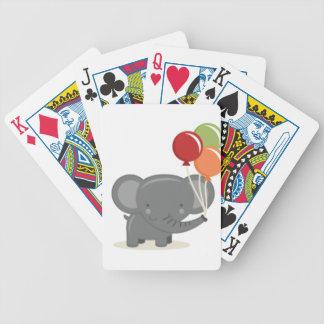 birthday-elephant poker deck