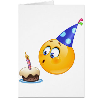 birthday emoji card