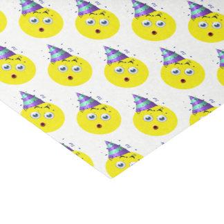 Birthday Emoji Pattern Tissue Paper
