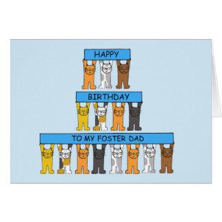 Birthday foster Dad Cards