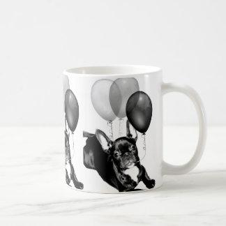 Birthday French Bulldog Basic White Mug