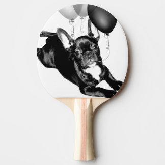 Birthday French Bulldog Ping-Pong Paddle