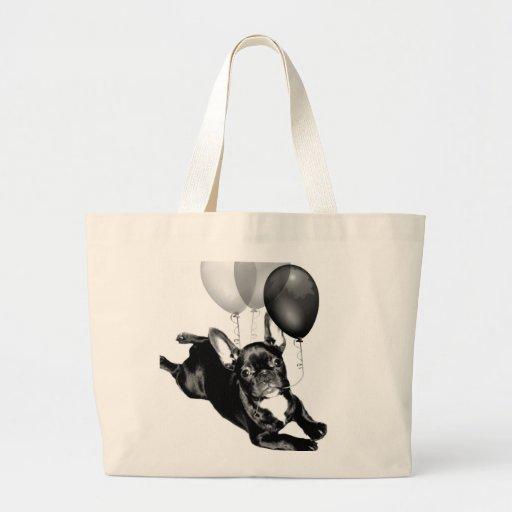 Birthday French Bulldog tote bag