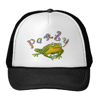Birthday Frog Trucker Hats