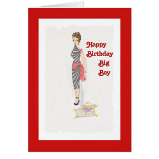 Birthday Genie Card for Him