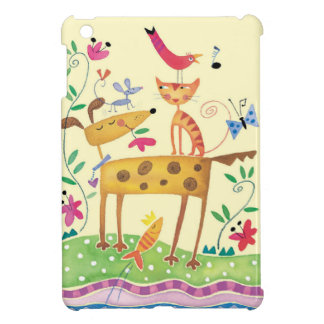 Birthday Gifts From Pets - Greeting Card iPad Mini Cover