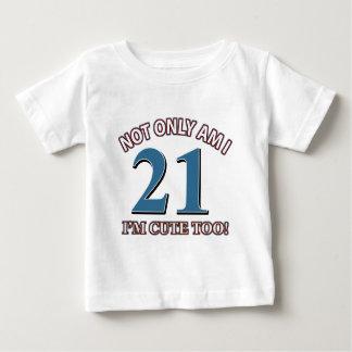 Birthday Girl 21 Baby T-Shirt