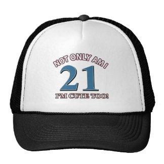 Birthday Girl 21 Hat