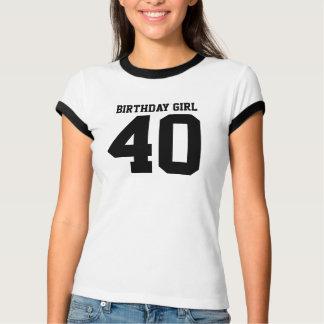 Birthday Girl 40 T-Shirt
