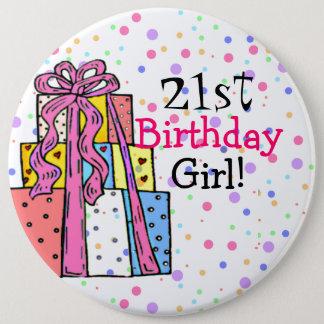 Birthday Girl 6 Cm Round Badge
