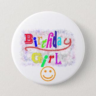 Birthday Girl accessory 7.5 Cm Round Badge