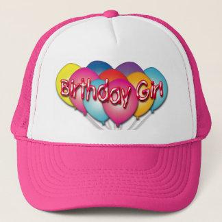 Birthday Girl Balloons Hat