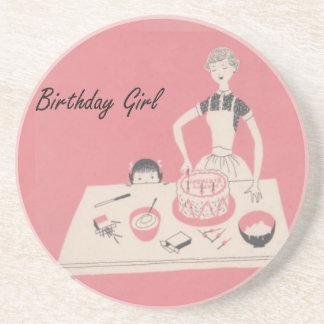 Birthday Girl Drink Coasters