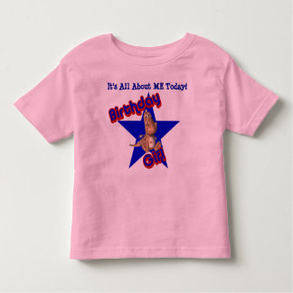 Birthday Girl Dinosaur All About Me T-Shirt