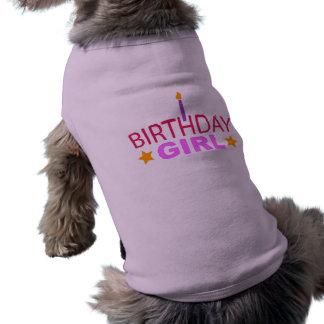Birthday Girl Dog Dog T-shirt