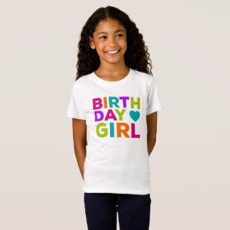 Birthday Girl Multi Colored T-Shirt