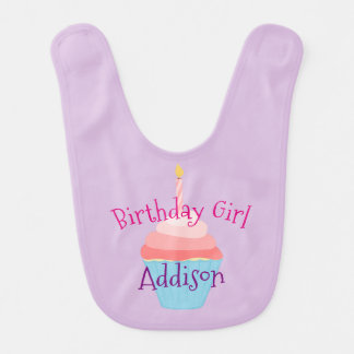 Birthday Girl Personalized Bib