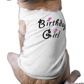 Birthday Girl - Pink Dog Bones Pet Clothes