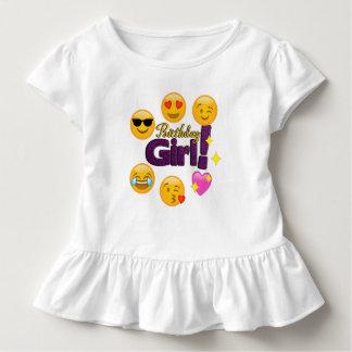 Birthday Girl Toddler Ruffle T-Shirt