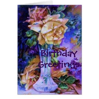 Birthday Gorgeous Roses Card