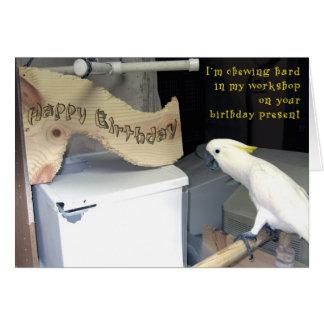 Birthday Hardwork Card
