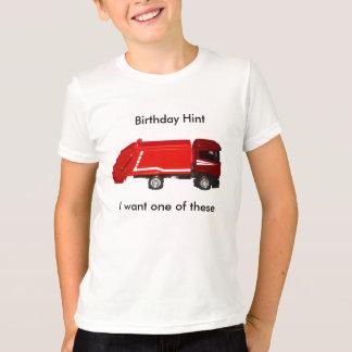 Birthday Hint T-shirt (6-8 yrs)