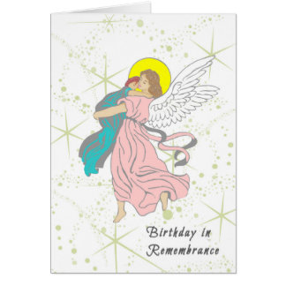 Birthday in Remembrance Card for Small Child