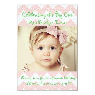 "Birthday Invitations 3.5"" X 5"" Invitation Card"
