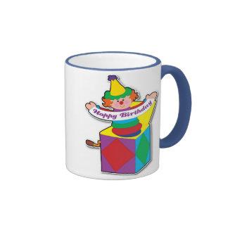 Birthday Jack in Box Ringer Mug