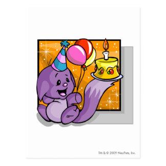 Birthday Kacheek Postcard