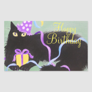 Birthday Kitty, Sticker