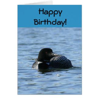 Birthday Loon Greeting Card