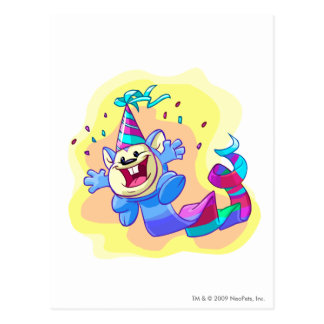 Birthday Meerca Postcard