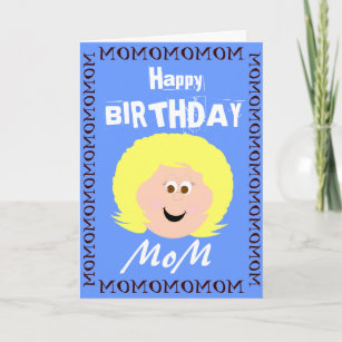 Birthday Mom From Son Card