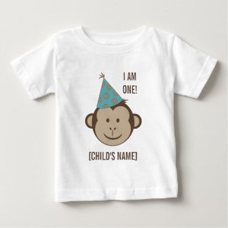 Birthday Monkey Face Shirt