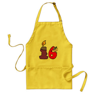 Birthday Mouse 16th Birthday Gifts Standard Apron