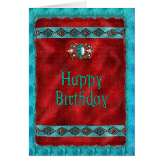 Birthday - Native American - Southwestern Style Card