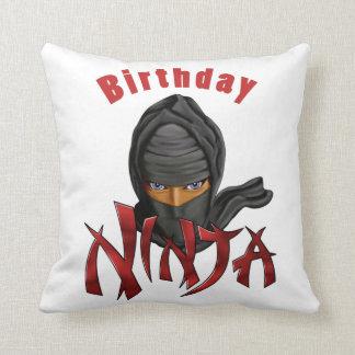 Birthday Ninja Cushion