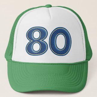 Birthday Number 80 Trucker Hat