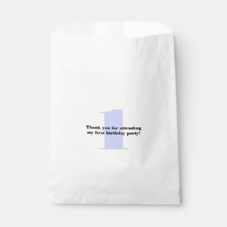 Birthday Number Color Favour Bag
