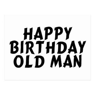 Birthday Old Man Postcard