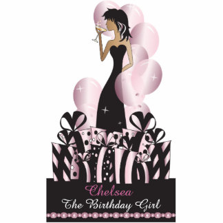 Birthday or Bachelorette Diva Princess | Pink Photo Cutouts