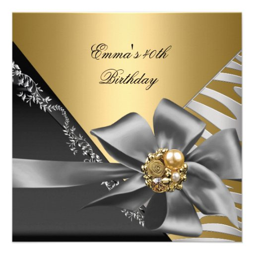 40Th Birthday Invitations is awesome invitations template