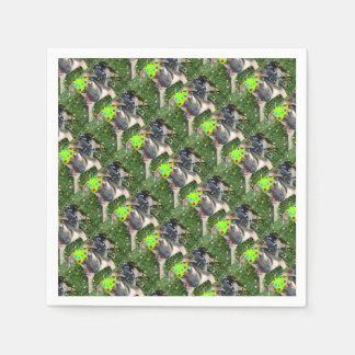 Birthday Party Animal German Shepherd Disposable Napkins