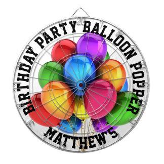 Birthday Party Balloon Popper Dartboard