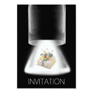 Birthday Party Cake Modern Vip Invitation