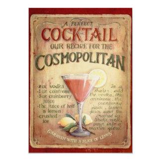 Birthday Party Cocktail Invitation