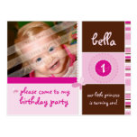 BIRTHDAY PARTY INVITATION :: grace - girl