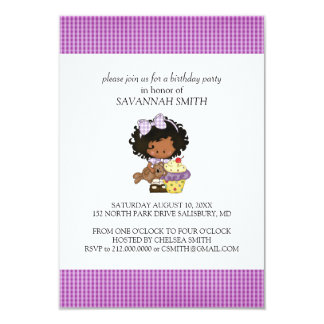 Birthday Party Invitations for a Girl
