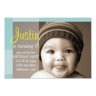 Birthday Party Invite | A Segment